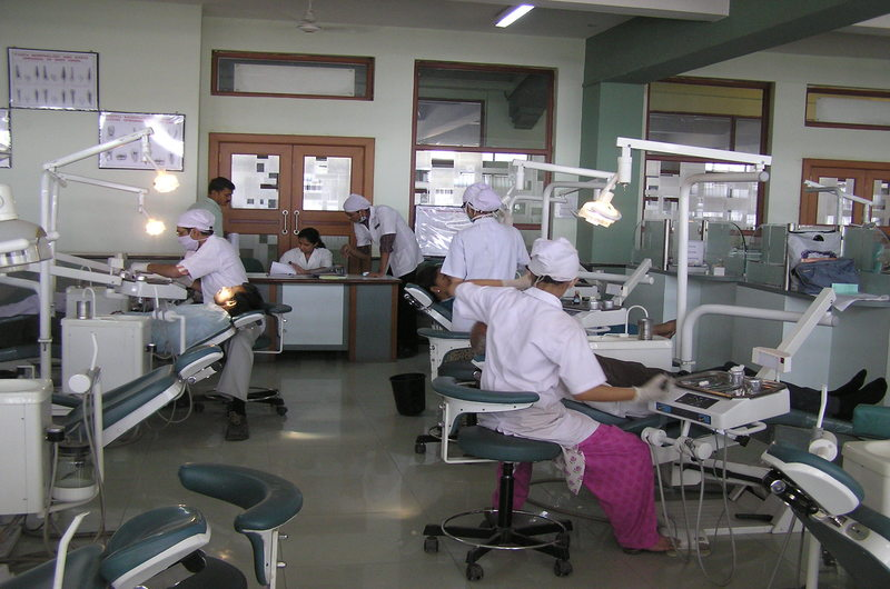 Dr. D. Y. Patil Dental College Infrastructure